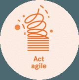 Act agile