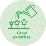 Grow expertise